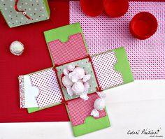 Felt explosion box...ideas for your Valentane ^_^