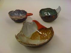 Shino Takeda- Ceramic Beak Bowls