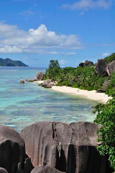 The Anse Source D'Argent beach, Seychelles