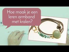 #leren #wikkel #armbanden maken, hier kun je bekijken hoe je deze maakt!