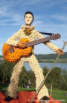 Pumpkin Exhibition at Jucker Farm in Switzerland.