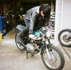 Real Women Who Ride by Lanakila MacNaughton ~ Return of the Cafe Racers