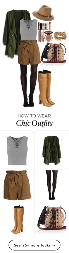"""""""Fall Look Book #3"""" by reyam16 on Polyvore featuring Tamara Mellon, SPANX, Charlotte Tilbury, Chicwish, Topshop, H&M, Rusty and Unique"""