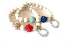 Peridot Beaded stretch bracelet....very pretty!