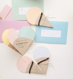 S U G A R C O A T E D E V E N T S: Sweet Icecream Invitations