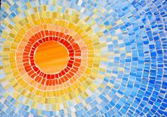 Mosaic sun -- living in the Valley of the Sun!!!