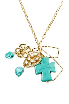 Pretty Turquoise Necklace.