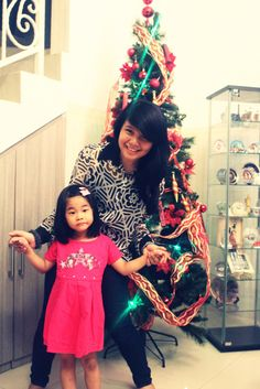 Happy Christmas everyone, with love, me and my sweet cousin <3