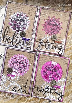 "Gelli ATC set ""Coloured World"" Welcome to my blog!   Today I would like to show you the result of another playing with Gelli, made for ScrapArt.cz .   I tried v..."