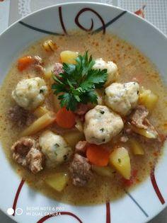 Temesvári, petrezselymes gombóc leves Chicken, Cooking, Food, Kitchen, Essen, Meals, Yemek, Brewing, Cuisine
