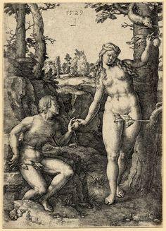 marinni | Адам и Ева. Сотворение мира и грехопадение. Графика.