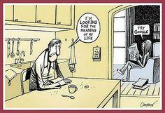 I am lookoing for the meaning of my life - Humor Hub Funny Spanish Memes, Spanish Humor, Spanish Class, Dark Humor Comics, Funny Comics, Funny Images, Funny Pictures, Mega Sena, Dark Sense Of Humor