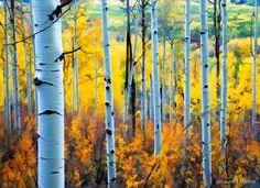 Aspens  Gold  Grey San Juan Mountains, Front Range, Home Design Decor, Home Decor, Natural Forms, Aspen, Painting Inspiration, Colorado, Arts And Crafts