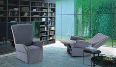 Poltrona Relax modello Manta Poltrone relax, Divani & Poltrone con Meccanismi Relax o sedute scorrevoli