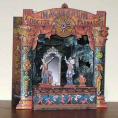 The Imaginarium of Doctor Parnassus Papercraft Toy Theatre -I have always wanted to make a paper craft toy theatre