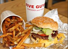 Five guys fries are delicious!!!!!!!!!!