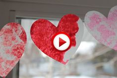 Homemade Valentines: Stained Glass Hearts Video #valentines, pinsland, #howto, https://apps.facebook.com/yangutu