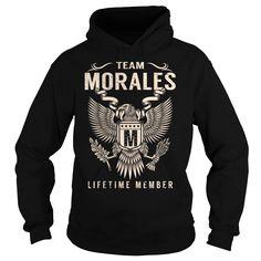 Team MORALES Lifetime Member - Last Name, Surname T-Shirt
