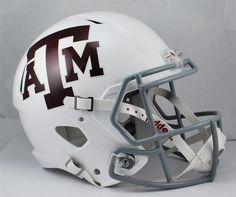 Texas A&M Aggies Full Size Riddell Replica Speed Helmet