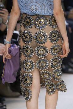 Burberry Prorsum at London Fashion Week Spring 2014 - Details Runway Photos