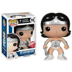 2015 SDCC Exclusive Funko Pop! DC Universe White Lantern Wonder Woman Vinyl Figure