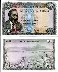 Kenya 50 Shillings 1971