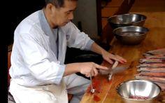 Cómo preparan las anguilas en Japón