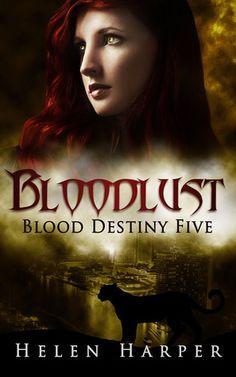 Bloodlust (Blood Destiny #5) by Helen Harper narrator Saskia Maarleveld