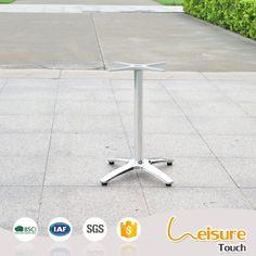 Restaurant outdoor cafe bar furniture aluminum table base