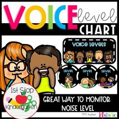 Voice Level Chart: is a great way to monitor voice level in the classroom. Students will be eager to know what voice level they can use doing work time. The voice level chart resources has two options: circle chart or traditional poster style. Check out the preview for more details! Download include... Learning Techniques, Teaching Methods, Help Teaching, Teaching Strategies, Classroom Management Techniques, Kindergarten Classroom Management, Effective Classroom Management, Behavior Management, Class Management
