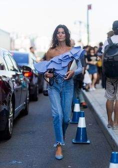 Layered Under a Dress — and 25 Other Creative Ways to Rock Your Jeans This Fall