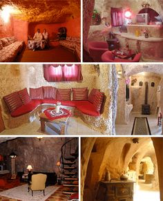 From Cappadocia to Missouri: Over 30 Gorgeous Cave Houses / Cave interiors aren't necessarily as cold and damp as one might expect. With a little organic lighting and some careful interior design choices, they can be just as cozy as anything above ground.