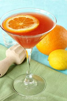 Hurricane Martini Recipe- Sweet, fruity & powerful New Orleans cocktail turns into a martini