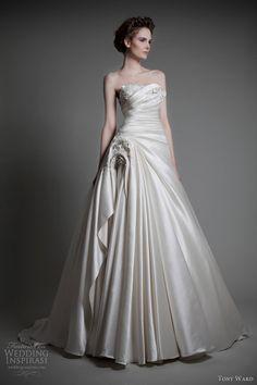 tony ward wedding dresses 2013 bridal absolu strapless ball gown