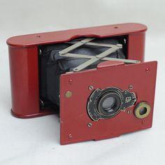 Red Kodak Vest Pocket camera