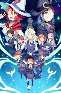 little witch academia | Tumblr