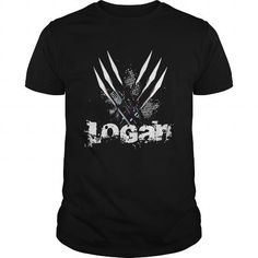Cool Authentic Mens LOGAN T Shirt T-Shirts
