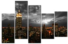 #Cuadro New York http://www.cuadrosyespejosmodernos.com/producto/cuadro-new-york-ref-9-150x100cm/