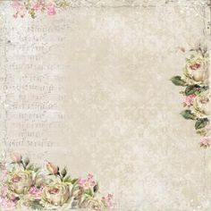 Vintage Floral Background ~ http://www.artimeno.pl/pl/268-dom-roz
