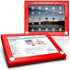 iPad Etch-a-sketch Case