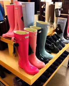 Hunter boots - Small Town Preppy Girl