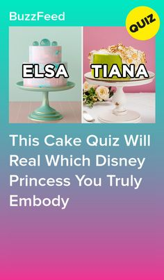 This Cake Quiz Will Real Which Disney Princess You Truly Embody Dance Moms Quizzes, Fun Quizzes To Take, Disney Prom, Disney Quiz, Quizzes Funny, Random Quizzes, Princess Quizzes, Disney Movie Trivia, Hijab Bride