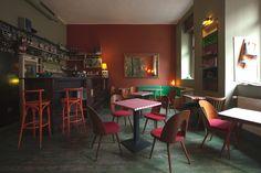 Cafe V lese, hipster hangout -- Prague