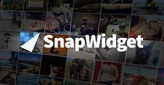 SnapWidget allows you to easily add widgets to your website or blog. These widgets include Instagram, Twitter, 500px and many more.