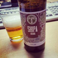 SHIPA Ariana von der Kehrwieder Kreativbrauerei  #craftbier #craftbeer #kehrwieder #kreativbrauerei #hamburg #kiel #ipa #indiapaleale #shipa #beerporn #instabeer #beerstagram #beerlove #beerpics #beer #bier #cerveja #cerveza #birra #cheers #craftbeerporn #craftbeerlife #drinkcraft
