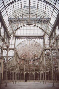 Palacio de Cristal, Retiro Park, Madrid.