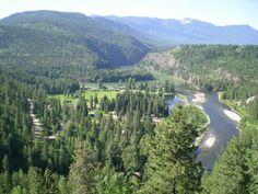 Relaxing summer destination...Moyie Springs, Idaho