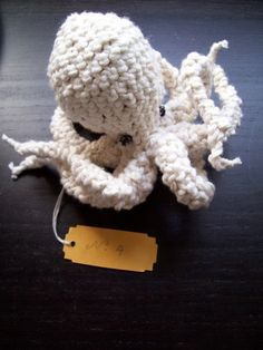 Pattern for Voluptuous Octopus No. 4 by jpolka on Etsy