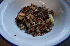 Formiche al vapore con verdure miste