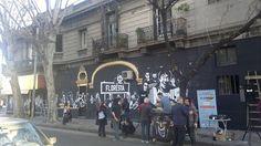 """Música de Barrio"" mural en homenaje a los músicos que dió Floresta a nuestra historia (Día del Amigo 2014) Four Square, Abs, Street View, Woodland Forest, Friends Day, Argentina, Historia, Hipster Stuff, Crunches"